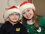 Eóin and Niamh Cummins pictured at the open day at Centra Ardee. Photo: Colin Bell/pressphotos.ie