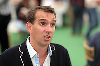 Hay on Wye. Friday 03 June 2016<br /> Author Peter Frankopan at the Hay Festival, Hay on Wye, Wales, UK