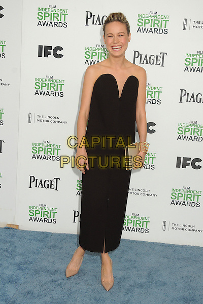 1 March 2014 - Santa Monica, California - Brie Larson. 2014 Film Independent Spirit Awards - Arrivals held at Santa Monica Beach. <br /> CAP/ADM/BP<br /> &copy;Byron Purvis/AdMedia/Capital Pictures