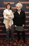 "Ann McDonough and Fionnula Flanagan attends the ""The Ferryman"" cast change photo call on January 17, 2019 at the Sardi's in New York City."