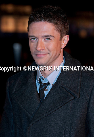 """TOPHER GRACE.VALENTINE'S DAY European Premiere at the Odeon Leicester Square,London_11/02/2010.VALENTINE'S DAY follows the intertwining romantic storylines of a group of people finding their way through break-ups and make-ups over the course of a Valentine's Day..Mandatory Photo Credit: ©Dias/Newspix International..**ALL FEES PAYABLE TO: """"NEWSPIX INTERNATIONAL""""**..PHOTO CREDIT MANDATORY!!: NEWSPIX INTERNATIONAL(Failure to credit will incur a surcharge of 100% of reproduction fees)..IMMEDIATE CONFIRMATION OF USAGE REQUIRED:.Newspix International, 31 Chinnery Hill, Bishop's Stortford, ENGLAND CM23 3PS.Tel:+441279 324672  ; Fax: +441279656877.Mobile:  0777568 1153.e-mail: info@newspixinternational.co.uk"""