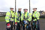 BT Wales Apprentices.<br /> Cross Hands ATE<br /> L-R: Lewis Evans, Sam Jenkins, Ben Howe &amp; Nathan Brooks.<br /> 03.03.14<br /> <br /> &copy;Steve Pope-FOTOWALES