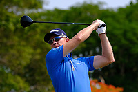 Brad Kennedy (AUS) on the 1st tee during round 3 of the Australian PGA Championship at  RACV Royal Pines Resort, Gold Coast, Queensland, Australia. 21/12/2019.<br /> Picture TJ Caffrey / Golffile.ie<br /> <br /> All photo usage must carry mandatory copyright credit (© Golffile | TJ Caffrey)