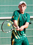 South Africa's Albertus Kruger during Junior Davis Cup 2015 match. September  30, 2015.(ALTERPHOTOS/Acero)