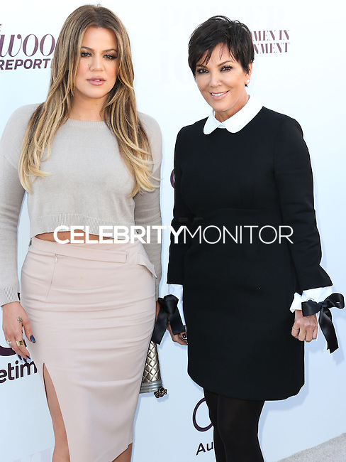 HOLLYWOOD, LOS ANGELES, CA - DECEMBER 10: Khloe Kardashian and Kris Jenner arrive at The Hollywood Reporter's 23rd Annual Power 100 Women In Entertainment Breakfast held at Milk Studios on December 10, 2014 in Hollywood, Los Angeles, California, United States. (Photo by Xavier Collin/Celebrity Monitor)