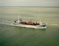 April 1994. Split Trailing Suction Hopper Dredger Vlaanderen I van DEME