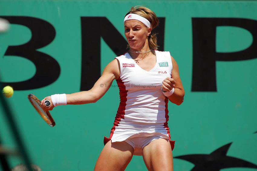 Photo: Iconsport/Richard Lane Photography..Roland Garros 2006. .09/06/2006..Svetlana Kuznetsova of Russia..