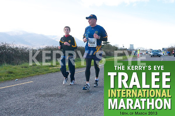 0666 Martin Tierney  who took part in the Kerry's Eye, Tralee International Marathon on Saturday March 16th 2013.