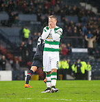 Leigh Griffiths dejection after missing penalty kick