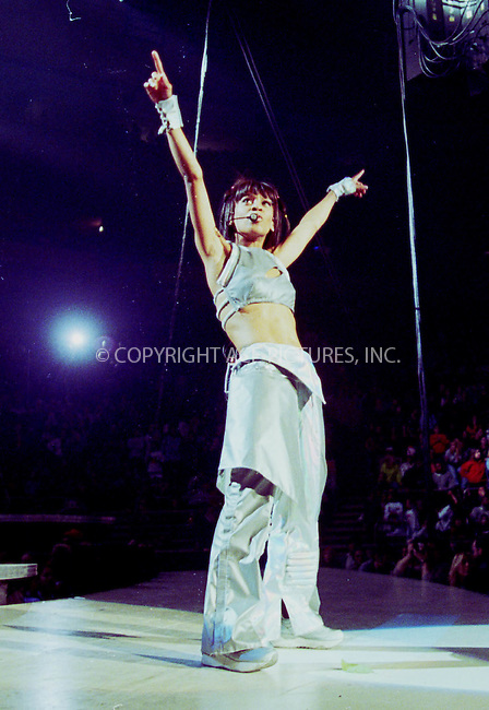 --- FILE PHOTO---    ..Grammy Award winning R&B artist and a memeber of the pop group TLC, Lisa Lopes, died Thursday night in a head-on car crash outside the Honduran town of Jutiapa. REF: RBUS2044. Please byline: NY Photo Press.   ..*PAY-PER-USE*      ....NY Photo Press:  ..phone (646) 267-6913;   ..e-mail: info@nyphotopress.com