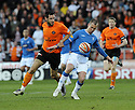 14/04/2010   Copyright  Pic : James Stewart.sct_jsp05_dundee_utd_v_rangers  .::  KENNY MILLER HOLDS OFF MIHAEL KOVACEVIC ::  .James Stewart Photography 19 Carronlea Drive, Falkirk. FK2 8DN      Vat Reg No. 607 6932 25.Telephone      : +44 (0)1324 570291 .Mobile              : +44 (0)7721 416997.E-mail  :  jim@jspa.co.uk.If you require further information then contact Jim Stewart on any of the numbers above.........