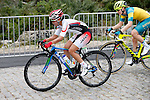 Eri Yonamine (JPN), Gracie Elvin (AUS),<br /> AUGUST 7, 2016 - Cycling :<br /> Women's Road Race during the Rio 2016 Olympic Games in Rio de Janeiro, Brazil. (Photo by Yuzuru Sunada/AFLO)