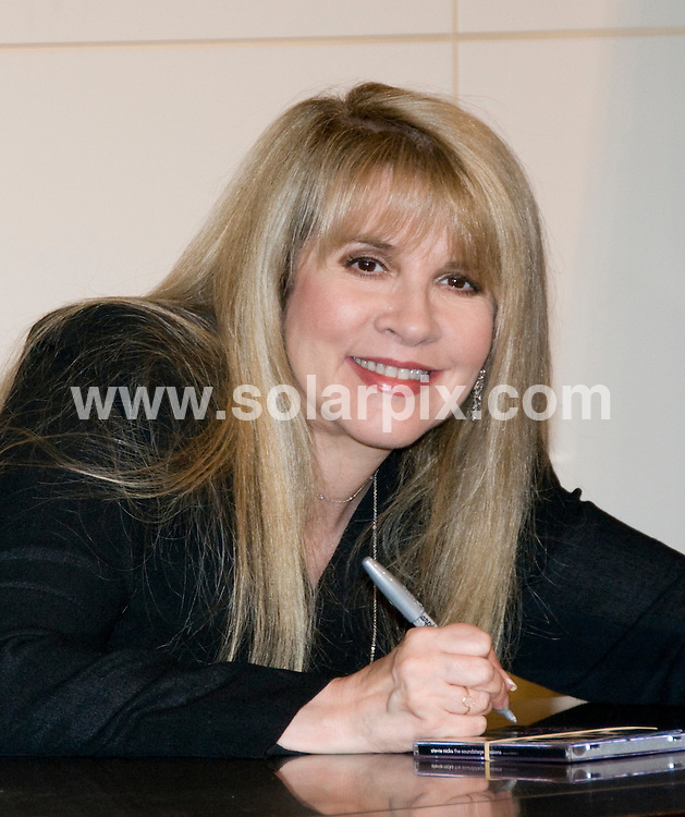 """**ALL ROUND PICTURES FROM SOLARPIX.COM**.**SYNDICATION RIGHTS FOR UK, AUSTRALIA, DENMARK, PORTUGAL, S. AFRICA, SPAIN & DUBAI (U.A.E) ONLY**.Stevie Nicks Promotes """"Live in Chicago"""" and """"The Soundstage Sessions"""" at Barnes & Noble Union Square, New York City, USA. 31 March 2009..This pic: Stevie Nicks..JOB REF: 8757 PHZ (Mayer)  DATE: 31_03_2009.**MUST CREDIT SOLARPIX.COM OR DOUBLE FEE WILL BE CHARGED**.**ONLINE USAGE FEE GBP 50.00 PER PICTURE - NOTIFICATION OF USAGE TO PHOTO @ SOLARPIX.COM**.**CALL SOLARPIX : +34 952 811 768 or LOW RATE FROM UK 0844 617 7637**"""