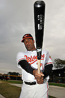 Feb 27, 2010; Tampa, FL, USA; Baltimore Orioles  catcher Michel Hernandez (71) during  photoday at Ed Smith Stadium. Mandatory Credit: Tomasso De Rosa