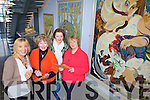 FUNDRAISER: Organisers of a fundraiser for autism at the Pauline Bewick Collection in Library Place in Killorglin, l-r: Pauline Bewick, Nuala Fitzgerald, Fiona Hyde, Margaret Ledwith.