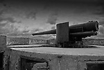 Rampart gun at the Royal Navy Dockyard in Bermuda