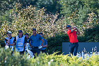Julian Suri (USA) in action on the 13th hole during the second round of the 76 Open D'Italia, Olgiata Golf Club, Rome, Rome, Italy. 11/10/19.<br /> Picture Stefano Di Maria / Golffile.ie<br /> <br /> All photo usage must carry mandatory copyright credit (© Golffile | Stefano Di Maria)