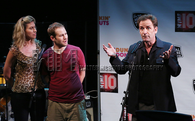 'Julian Po' featuring Luba Mason, Chad Kimball, Malcolm Gets Performing at The New York Musical Theatre Festival - Special Preview at The Studio Theatre on July 2, 2013 in New York City.