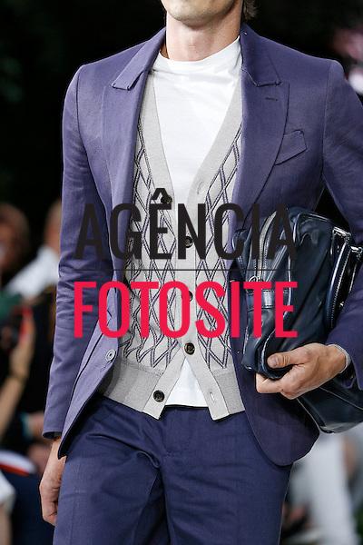 Paris, Franca &ndash; 06/2014 - Desfile de BErluti durante a Semana de moda masculina de Paris - Verao 2015. <br /> Foto: FOTOSITE