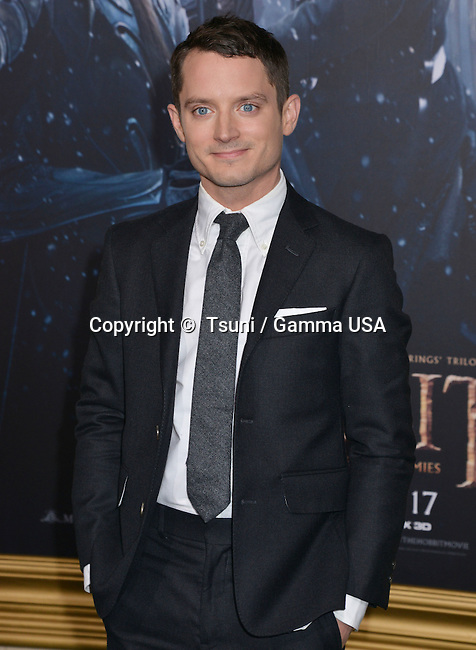 Elijah Wood 021 at the Hobbit Battle of the Five Armies Premiere at the Dolby Theatre in Los Angeles.
