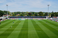 General view of the ground ahead of Woking vs Solihull Moors, Vanarama National League Football at The Laithwaite Community Stadium on 24th August 2019