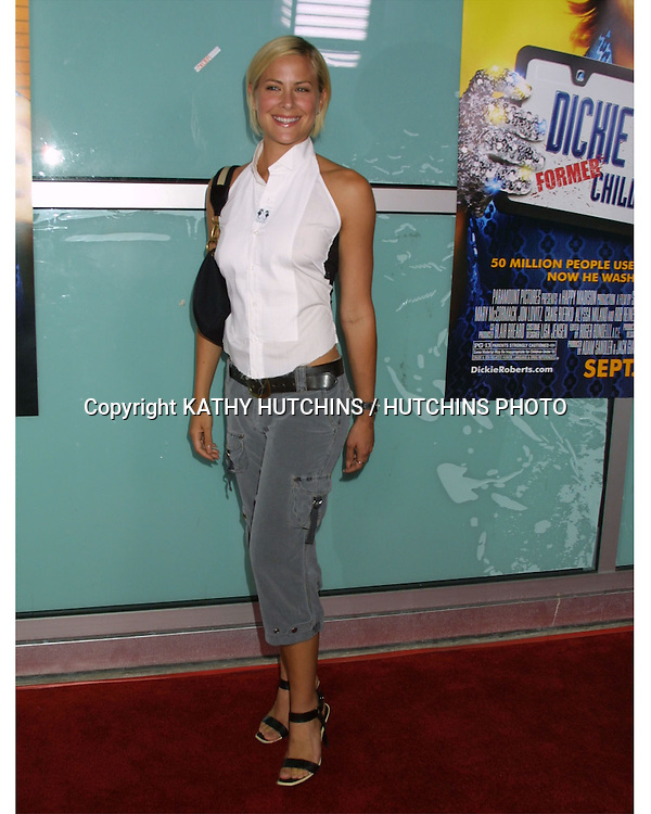"©2003 KATHY HUTCHINS / HUTCHINS PHOTO.WORLD PREMIERE OF ""DICKIE ROBERTS:FORMER CHILD STAR"".BENEFITING THE CHRIS FARLEY FOUNDATION.CINERAMA DOME.LOS ANGELES, CA.SEPTEMBER 3, 2003..BRITTNEY DANIEL"