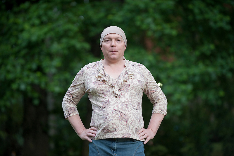 Jamie Shupe, who is the first legally non-bianry person in the United States in Portland, Oregon Thursday June 14, 2016. (Photo by Natalie Behring for the Guardian)