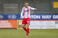 Ben Wilmot of Stevenage during Stevenage vs Luton Town, Sky Bet EFL League 2 Football at the Lamex Stadium on 10th February 2018