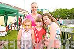 Shakira Coffey, Ava O'Connor, Leah Bowshaker and Kim O'Connor enjoying the Na Gaeil family fun Day on Sunday