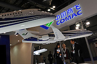 The Commercial Aircraft Corporation of China, Ltd. (COMAC) at Asian Aerospace 2011 held in Hong Kong's Asia World Expo, Hong Kong, China is a state-owned company. COMAC is planning to take on established players such as Boeing and Airbus as it targets the global aircraft market. Asian Aerospace is the world's largest single-focused exhibition and congress for the commercial aerospace and civil aviation market with particular emphasis on the Asia-Pacific region. This year a record of 270 exhibitors from 32 countries, and the number of Chinese companies increased by 42% comparing to last year..09 Mar 2011