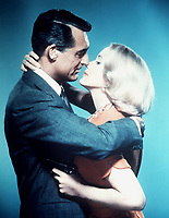 North by Northwest (1959) <br /> Promo shot of Cary Grant &amp; Eva Marie Saint<br /> *Filmstill - Editorial Use Only*<br /> CAP/KFS<br /> Image supplied by Capital Pictures