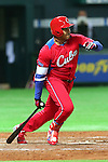 Frederich Cepeda (CUB), .MARCH 1, 2013 - WBC : .2013 World Baseball Classic .Exhibithion Game .between Fukuoka Softbank Hawks 8-10 Cube .at Yafuoku Dome, Fukuoka, Japan. .(Photo by YUTAKA/AFLO SPORT) [1040]
