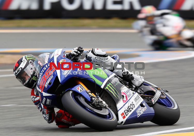 Monster Energy Grand Prix de France in Le Mans 14.-17.05.2015, Free Practice<br /> <br /> 99 Jorge Lorenzo / Spanien<br /> <br /> Foto &copy; nordphoto / FSA