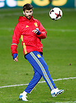 Spain's Gerard Pique during training session. March 23,2017.(ALTERPHOTOS/Acero)