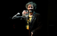 "Argentine singer-songwriter Fito Paez during his concert in Hard Rock Santo Domingo, June 2011.  His real name is Rodolfo Páez, like his father. When he was a child people called him ""Rodolfito"" (in Spanish, an affectionate form of ""Rodolfo"") to distinguish him from his father. With the passage of time, this nickname became just ""Fito"", and that is where his stage name came from. ViewPress/ ZZ"
