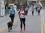 A photograph taken during the 6th Annual Reno 5000 Downtown River Run on Saturday, April 6, 2019.