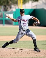 Tobi Stoner / Peoria Saguaros 2008 Arizona Fall League..Photo by:  Bill Mitchell/Four Seam Images