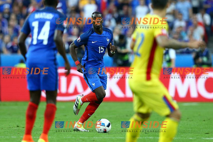 Paul Pogba Francia<br /> Paris 10-06-2016 Stade de France football Euro2016 France - Romania  / Francia - Romania Group Stage Group A. Foto Matteo Ciambelli / Insidefoto