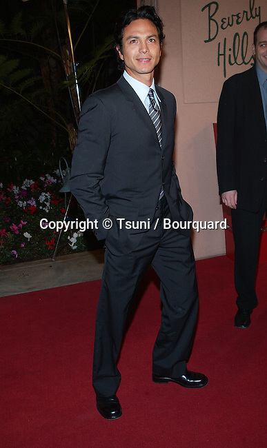 Benjamin Bratt arriving at the 7th Broadcast Film Critics Ass. Awards at the Beverly Hills Hotel in Los Angeles.  January 11, 2002. BrattBenjamin06A.JPG