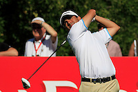 Felipe Aguilar (CHI) on the third day of the DUBAI WORLD CHAMPIONSHIP presented by DP World, Jumeirah Golf Estates, Dubai, United Arab Emirates.Picture Fran Caffrey www.golffile.ie