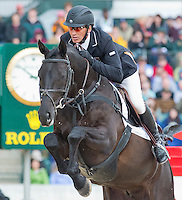 QUIMBO, ridden by Andrew Nicholson (NZL), wins the Rolex 3-Day Event at the Kentucky Horse Park in Lexington, Kentucky on April 28, 2013.