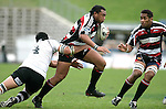 Sekope Kepu is taken by Lua Lokotui during the Air New Zealand Cup rugby game between Counties Manukau & Hawkes Bay played at Mt Smart Stadium, 30th of September 2006. Hawkes Bay won 30 - 29.