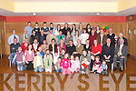 GREAT DAY: A great day for Noreen Kearney of Ballinclemeisig, Ballyheigue, on Saturday as she celebrated her 80th Birthday with family and friends at Ballyroe Heights Hotel, Tralee. Noreen seated 6th from left..