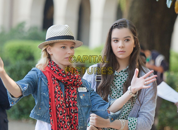 Pitch Perfect 2 (2015) <br /> Elizabeth Banks, Hailee Steinfeld<br /> *Filmstill - Editorial Use Only*<br /> CAP/KFS<br /> Image supplied by Capital Pictures