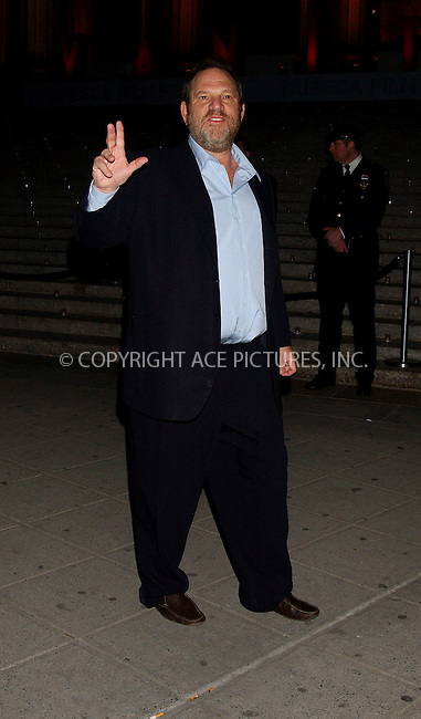 WWW.ACEPIXS.COM . . . . . ....APRIL 26, 2006 - NEW YORK CITY....Harvey Weinstein attends Vanity Fair's Tribeca Film Festival party at the State Supreme Courthouse in New York City.......Please byline: KRISTIN CALLAHAN - ACEPIXS.COM.. . . . . . ..Ace Pictures, Inc:  ..(212) 243-8787 or (646) 679 0430..e-mail: picturedesk@acepixs.com..web: http://www.acepixs.com