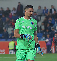 28th October 2019; Goalkeeper Ugurcan Cakir of Trabzonspor during the 2019-2020 Turkish Super League Football Match between Basaksehir and Trabzonspor at Fatih Terim Stadium in Istanbul . Premier League Chelsea have agreed to sign the goalkeeper on a permanent basis