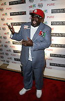 CEDRIC THE ENTERTAINER (Cedric Antonio Kyles).The Ante Up for Africa Celebrity Poker Tournament at the Rio Resort Hotel and Casino, Las Vegas, Nevada, USA..July 2nd, 2009.full length blue suit red baseball cap hat hands mouth open.CAP/ADM/MJT.© MJT/AdMedia/Capital Pictures