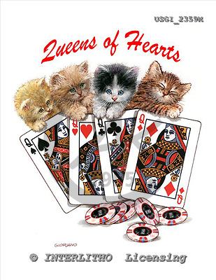 GIORDANO, CHILDREN BOOKS, BIRTHDAY, GEBURTSTAG, CUMPLEAÑOS, humor, paintings+++++,USGI2359M,#BI#,#H# playing cards ,everyday ,everyday