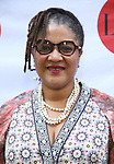 Lynn Nottage attends the 9th Annual LILLY Awards at the Minetta Lane Theatre on May 21,2018 in New York City.