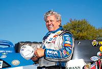 Sep 15, 2019; Mohnton, PA, USA; NHRA funny car driver John Force during the Reading Nationals at Maple Grove Raceway. Mandatory Credit: Mark J. Rebilas-USA TODAY Sports